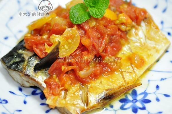 茄汁鲭鱼一夜干的做法