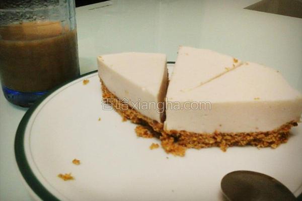 免烤箱轻乳酪蛋糕的做法
