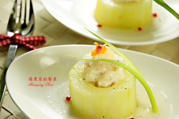翡翠黄瓜盅的做法