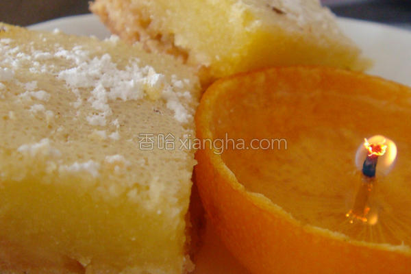 柠檬方块的做法