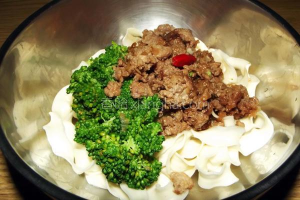 胡椒红葱肉燥的做法