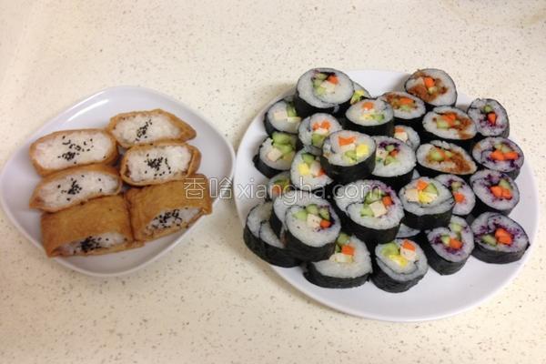 海苔寿司的做法