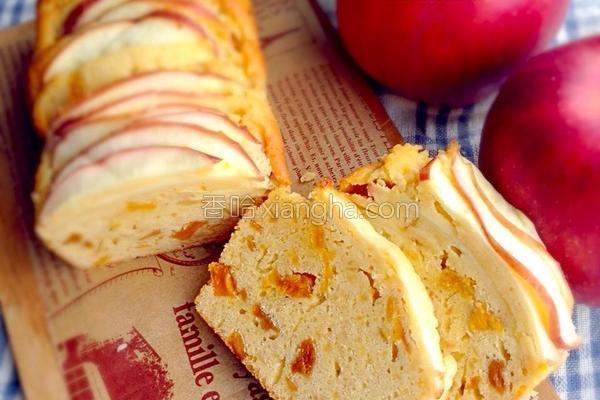 苹果芒果蛋糕的做法