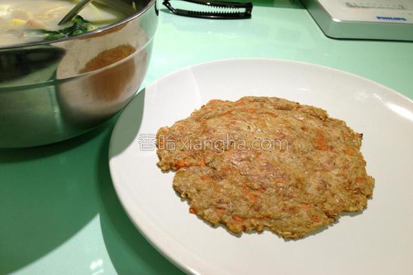 燕麦煎饼的做法