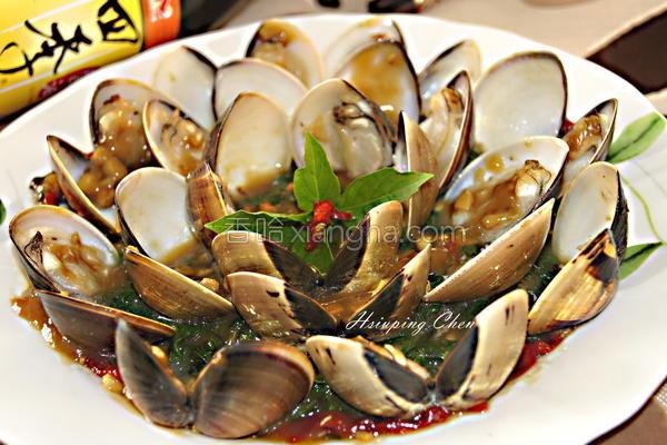 塔香花文蛤的做法