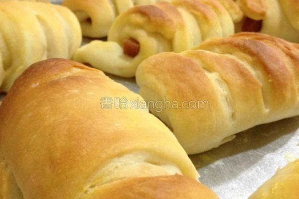 午餐肉面包的做法
