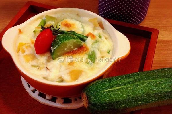 爱妻料理节瓜炖饭的做法