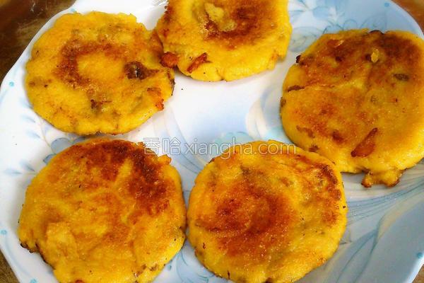 地瓜麻糬煎的做法