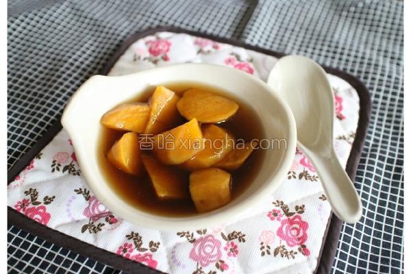 黑糖地瓜姜汤的做法