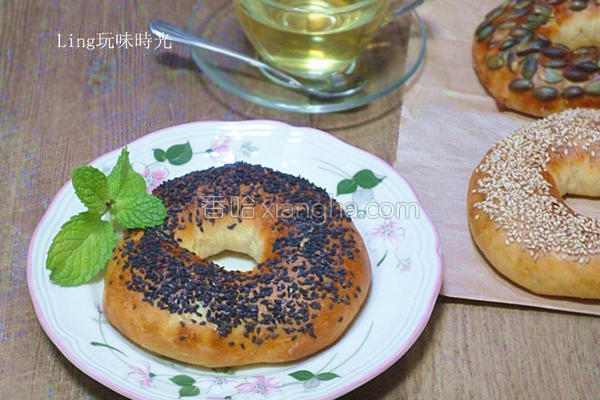 圆圈面包的做法