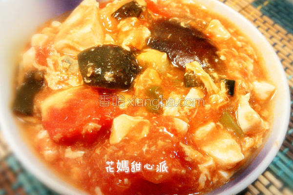 番茄双蛋豆腐的做法
