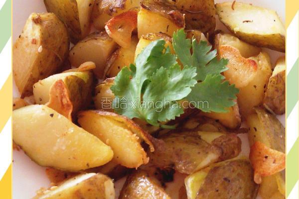 迷迭香烤马铃薯的做法