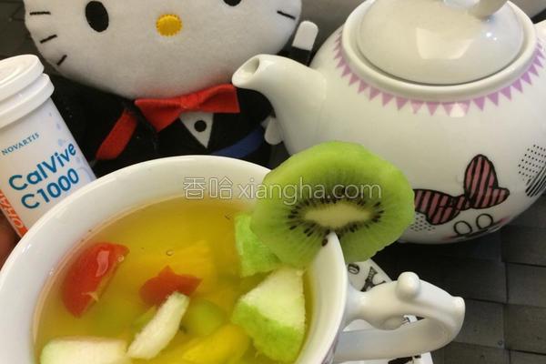 之风味水果茶的做法