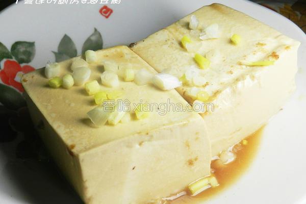 卤豆腐的做法