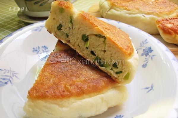 香葱大饼的做法