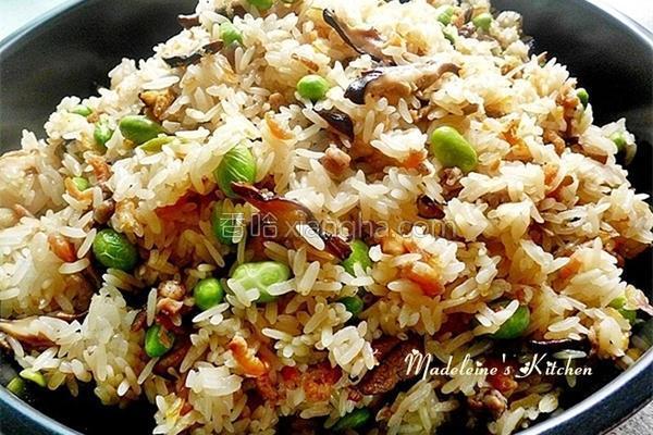 香Q红葱油饭的做法
