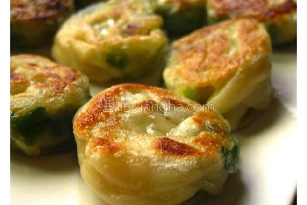 迷你蜗牛葱饼的做法