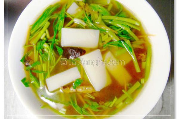 菜头粿汤的做法