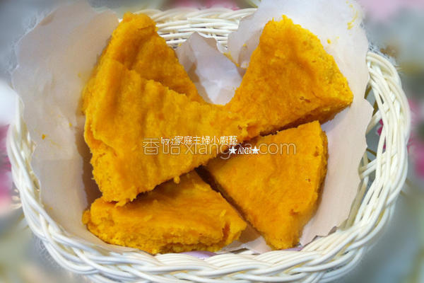 金瓜蒸蛋糕的做法