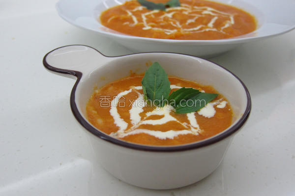 番茄浓汤米粒拉面的做法
