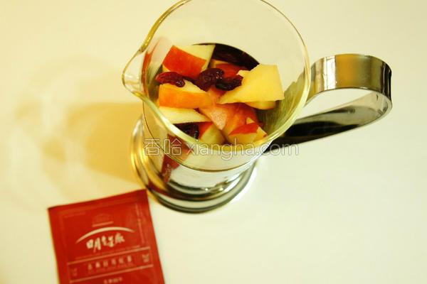 心情苹果蔓越莓茶的做法