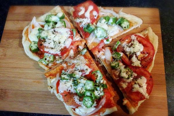 蔬食披萨的做法