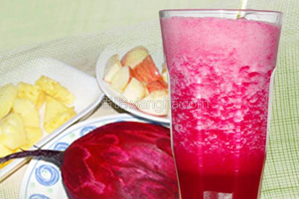 甜菜根鲜果汁的做法