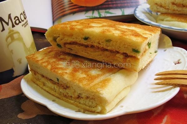 山东甘松葱大饼的做法