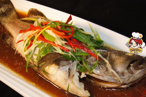 清蒸蚝油石斑鱼的做法
