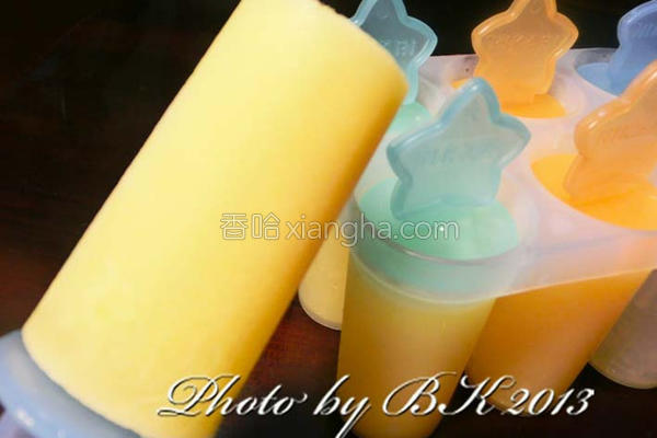 小玉西瓜牛奶的做法