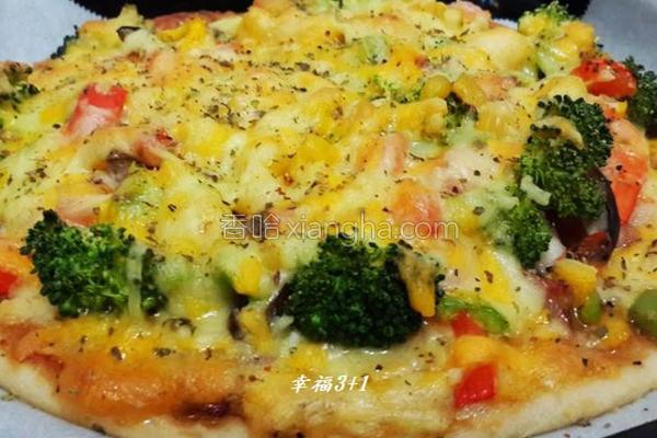 手工披萨的做法