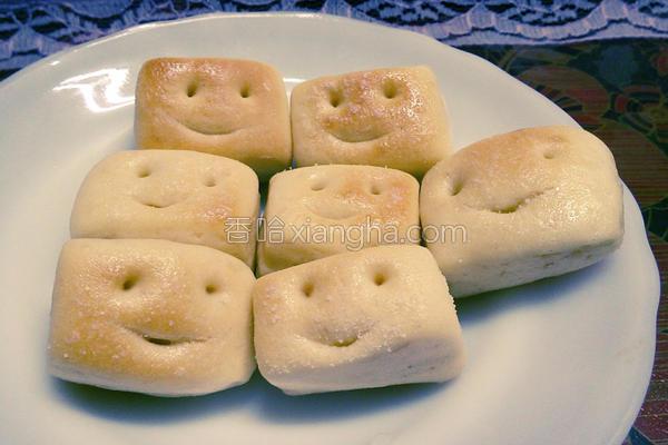 微笑一口面包的做法