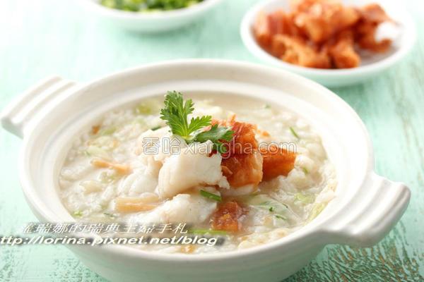 干贝石斑鱼片粥的做法