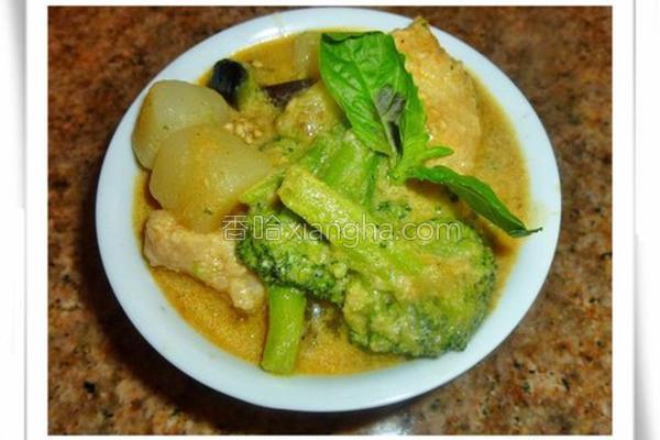 泰式咖哩鱼的做法