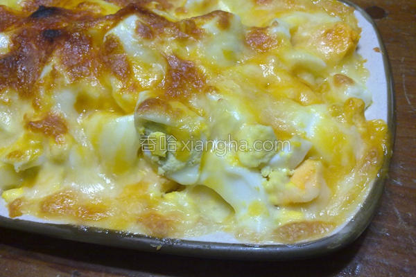 焗烤清蛋的做法