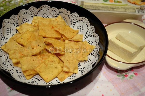 豆腐脆片的做法