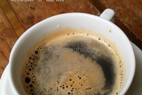 美式咖啡的做法