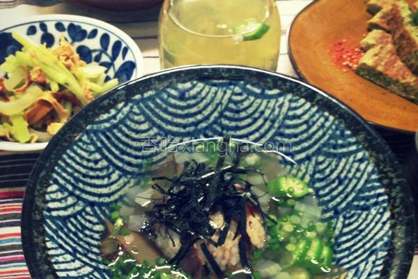 柴鱼茶泡饭的做法