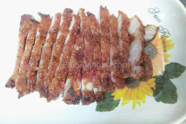 红糟叉烧肉的做法