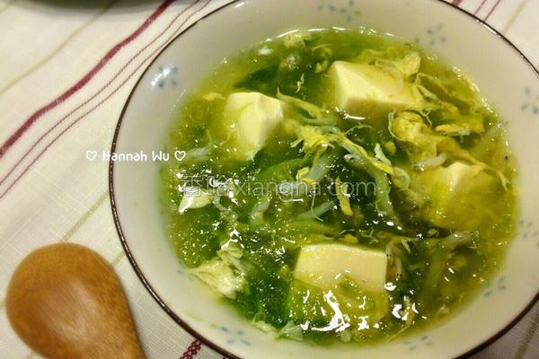 海菜吻仔鱼汤的做法