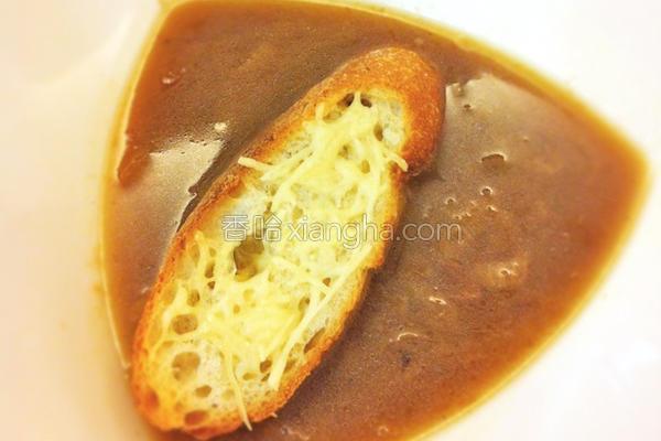 法式洋葱汤的做法