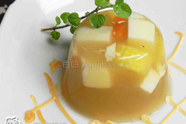 豆腐蔬菜冻的做法