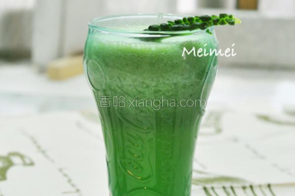 凤梨山苦瓜汁的做法