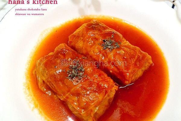 高丽菜肉卷及的做法