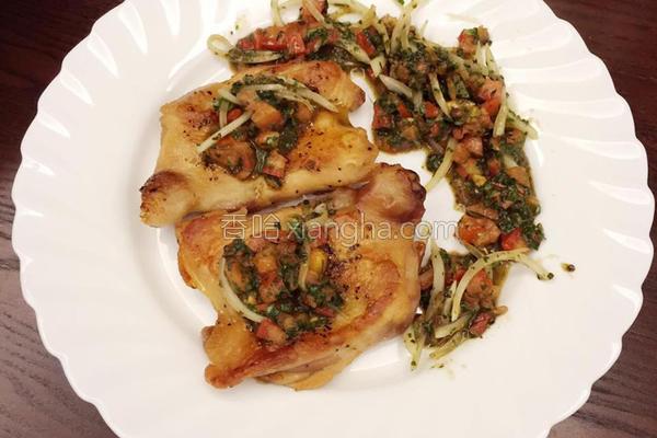 南洋番茄脆皮嫩鸡的做法