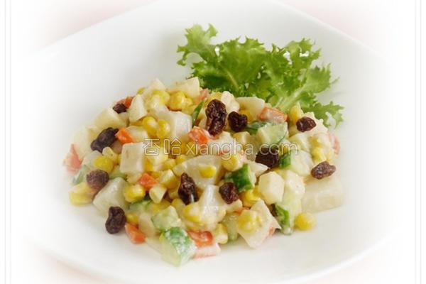 低热量蔬果沙拉的做法