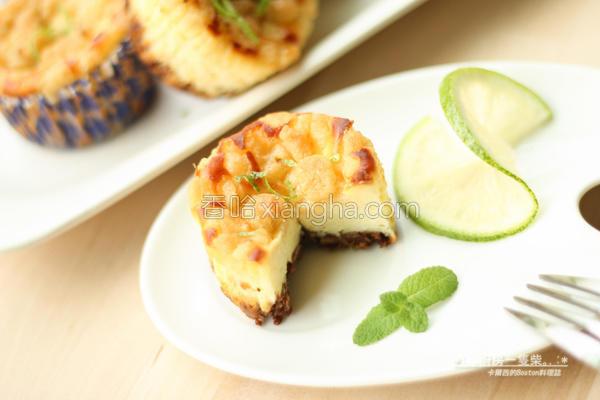 菠萝起司蛋糕的做法