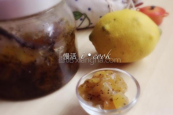 苹果红茶果酱的做法