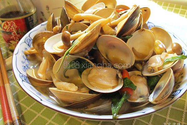 鲜味炒蛤蜊的做法