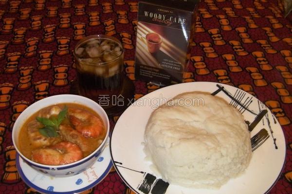 西非海鲜花生汤的做法